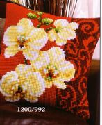 Vervaco Orchid Cross Stitch Kit