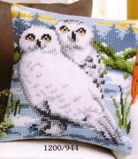 Snowy Owl - Vervaco Cross Stitch Kit