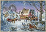Dimensions Sweet Memories Christmas Cross Stitch Kit