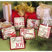 Dimensions Christmas Sayings Cross Stitch Kit