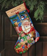 Santa's Toys Stocking - Dimensions Cross Stitch Kit