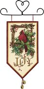 Cardinal Joy Banner - Dimensions Cross Stitch Kit