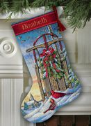 Christmas Sled Stocking - Dimensions Cross Stitch Kit