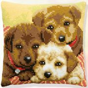 Three Puppies - Pako Cross Stitch Kit
