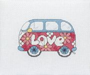 Camper Van - Anchor Cross Stitch Kit