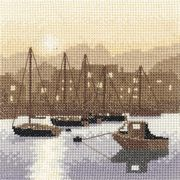 Harbour Lights - Evenweave - Heritage Cross Stitch Kit