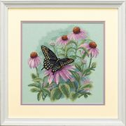 Butterfly and Daisies - Dimensions Cross Stitch Kit