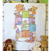 Baby Drawers Quilt - Dimensions Cross Stitch Kit