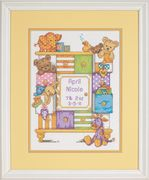 Baby Drawers Birth Record - Dimensions Cross Stitch Kit
