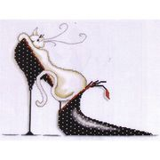 Polka Dot Shoe - Design Works Crafts Cross Stitch Kit