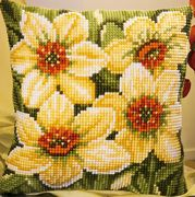 Vervaco Daffodils Cross Stitch Kit