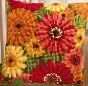 Vervaco Gerbera Cross Stitch Kit