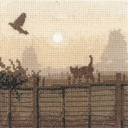 Heritage Lucky Escape - Evenweave Cross Stitch Kit