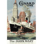 Heritage The Queen Mary - Evenweave Cross Stitch Kit