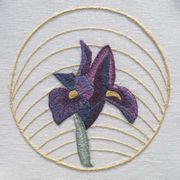 Iris - Abacus Designs Embroidery Kit