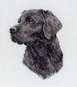 Anchor Black Labrador Cross Stitch Kit