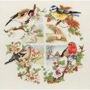 Anchor Birds and Seasons Cross Stitch Kit