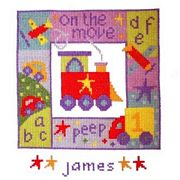 On The Move - Stitching Shed Cross Stitch Kit