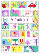 Stitching Shed Alphabet Cross Stitch Kit