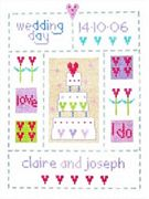 Stitching Shed Wedding Sampler Cross Stitch Kit