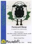 Mouseloft Farmyard Sheep Cross Stitch Kit