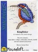 Mouseloft Kingfisher Cross Stitch Kit