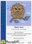 Mouseloft Baby Owl Cross Stitch Kit
