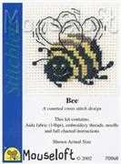 Mouseloft Bee Cross Stitch Kit