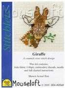 Giraffe - Mouseloft Cross Stitch Kit