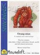 Mouseloft Orang-utan Cross Stitch Kit