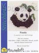 Mouseloft Panda Cross Stitch Kit