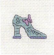 Mouseloft Funky Shoe Cross Stitch Kit