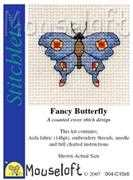 Mouseloft Fancy Butterfly Cross Stitch Kit
