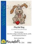 Mouseloft Playful Dog Cross Stitch Kit