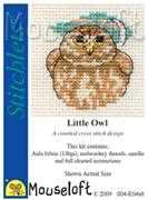 Mouseloft Little Owl Cross Stitch Kit