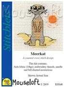 Mouseloft Meerkat Cross Stitch Kit