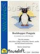 Mouseloft Rockhopper Penguin Cross Stitch Kit