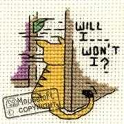 Mouseloft Will I, Won't I? Cross Stitch Kit
