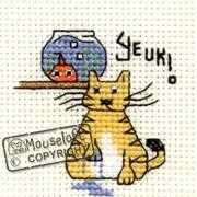 Mouseloft Yeuk! Cross Stitch Kit
