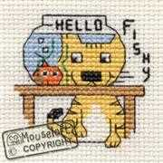 Mouseloft Hello Fishy Cross Stitch Kit