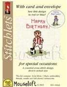 Mouseloft Little Footballer Cross Stitch Kit