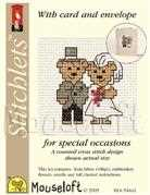 Mouseloft Bride and Groom Wedding Sampler Cross Stitch Kit