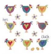 Chicken Sampler - Stitching Shed Cross Stitch Kit