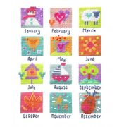 Stitching Shed A Year in Stitches Cross Stitch Kit