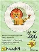 Mouseloft Lion Cross Stitch Kit