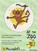 Mouseloft Monkey Cross Stitch Kit