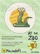 Mouseloft Snake Cross Stitch Kit