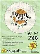 Mouseloft Zebra Cross Stitch Kit
