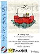 Mouseloft Fishing Boat Cross Stitch Kit