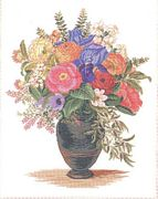 Eva Rosenstand Summer Vase Cross Stitch Kit